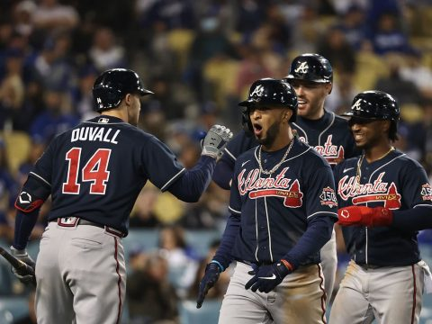 Braves Dodgers NLCS Game 5 odds